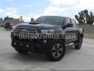 Foto venta Auto usado Toyota Tacoma TRD Sport (2017) color Negro precio $505,000