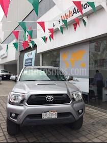 Foto venta Auto usado Toyota Tacoma TRD Sport (2015) color Plata precio $395,000