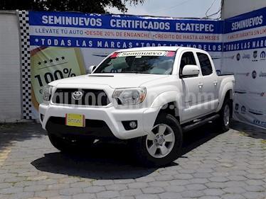 Foto venta Auto usado Toyota Tacoma TRD Sport (2014) color Blanco precio $319,000
