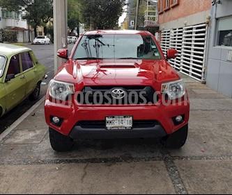 Foto venta Auto usado Toyota Tacoma TRD Sport (2013) color Rojo precio $320,000