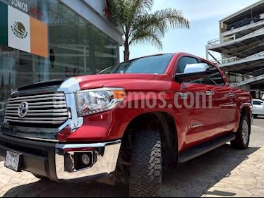 Foto venta Auto usado Toyota Tundra 5.7L Limited 4x4 (2017) color Rojo precio $665,000