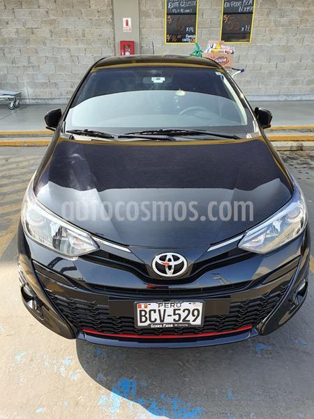 Toyota Yaris Hatchback 1.3L GLs Aut  usado (2018) color Negro precio u$s15,500