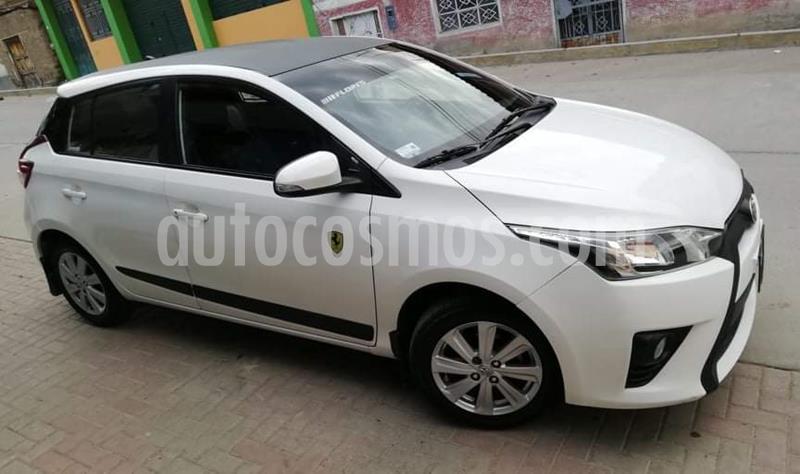 Toyota Yaris Hatchback 1.3L GLi  usado (2015) color Blanco precio u$s10,000