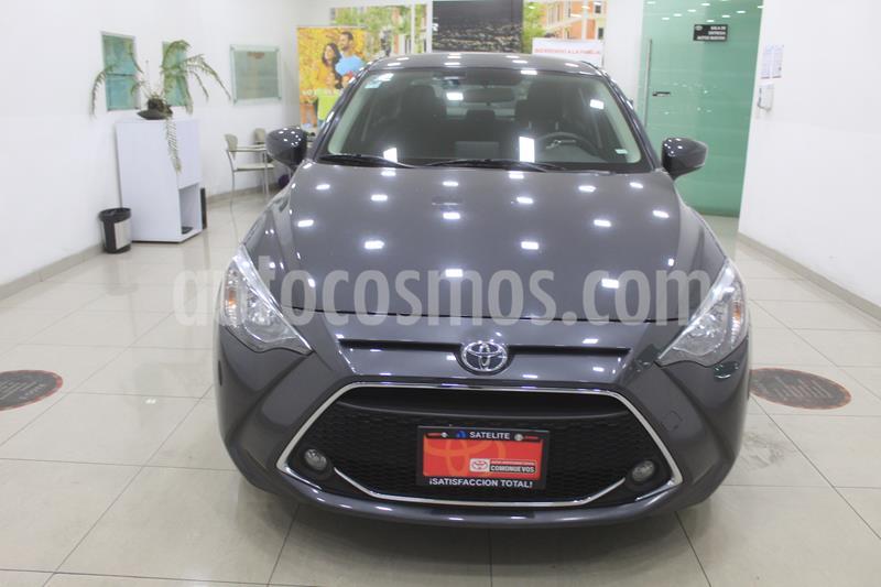 Toyota Yaris R XLE Aut usado (2019) color Gris Metalico precio $259,000