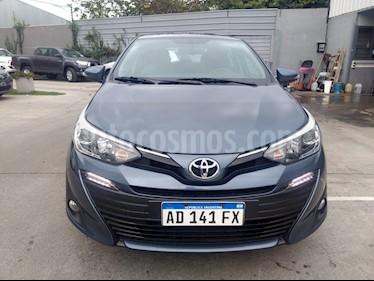 Foto venta Auto usado Toyota Yaris Sedan 1.5 XLS (2018) color Azul Medianoche precio $635.000