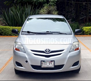 Foto venta Auto usado Toyota Yaris Sedan Core Aut (2008) color Plata precio $80,000