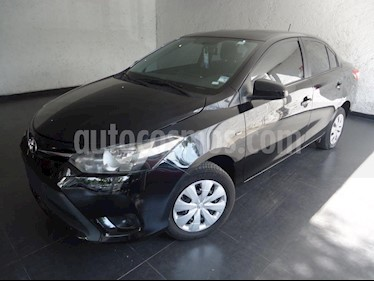 Foto venta Auto usado Toyota Yaris Sedan Core Aut (2017) color Negro precio $190,000