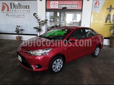 Foto venta Auto usado Toyota Yaris Sedan Core Aut (2017) color Rojo precio $195,000