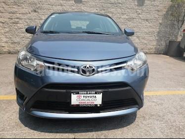 Foto venta Auto usado Toyota Yaris Sedan Core Aut (2017) color Azul precio $200,000