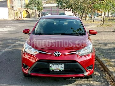 Foto venta Auto usado Toyota Yaris Sedan Core Aut (2017) color Rojo precio $180,000