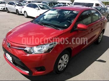 Foto venta Auto usado Toyota Yaris Sedan Core Aut (2017) color Rojo precio $189,000