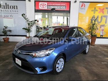 Foto venta Auto Seminuevo Toyota Yaris Sedan Core Aut (2017) color Azul precio $199,000