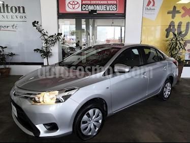 Foto venta Auto Seminuevo Toyota Yaris Sedan Core Aut (2017) color Plata precio $199,000