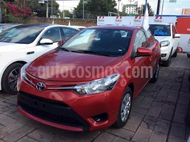 Foto venta Auto Seminuevo Toyota Yaris Sedan Core Aut (2017) color Rojo precio $185,000