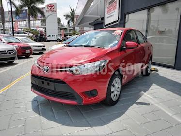 Foto venta Auto usado Toyota Yaris Sedan Core Aut (2017) color Rojo precio $187,000