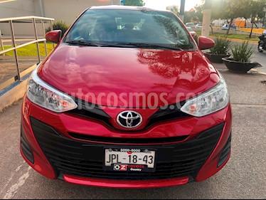 Foto venta Auto usado Toyota Yaris Sedan Core (2018) color Rojo precio $199,000