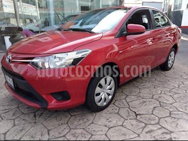 Foto venta Auto Seminuevo Toyota Yaris Sedan Core (2017) color Rojo precio $195,000
