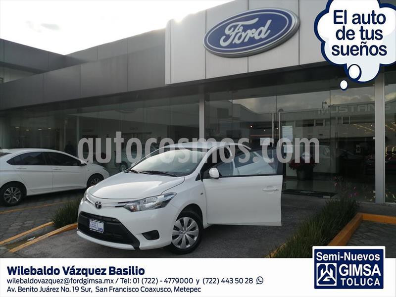 Toyota Yaris Sedan Core Aut usado (2017) color Blanco precio $158,500