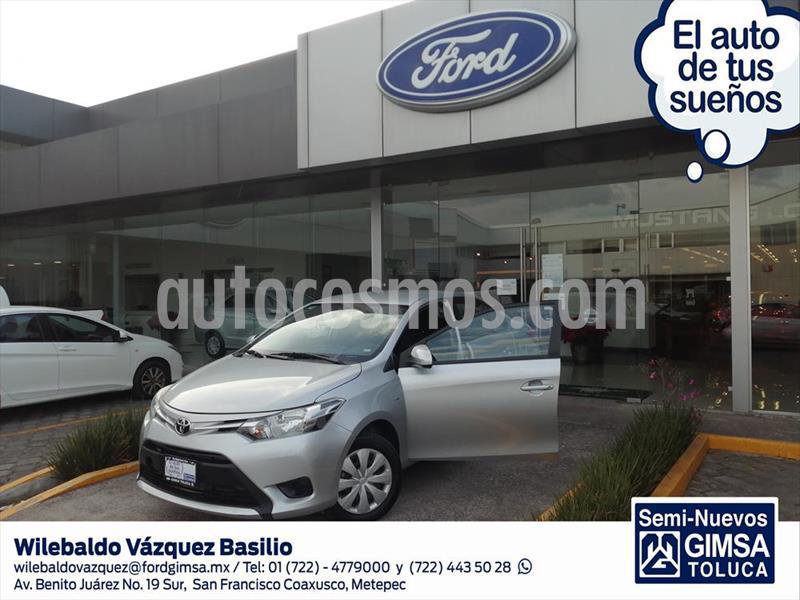 Toyota Yaris Sedan Core Aut usado (2017) color Plata precio $158,500