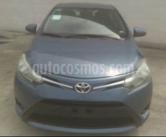 Toyota Yaris Sedan Core Aut usado (2017) color Azul precio $175,000