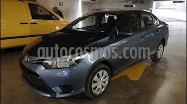 Toyota Yaris Sedan Core Aut usado (2017) color Azul precio $165,000