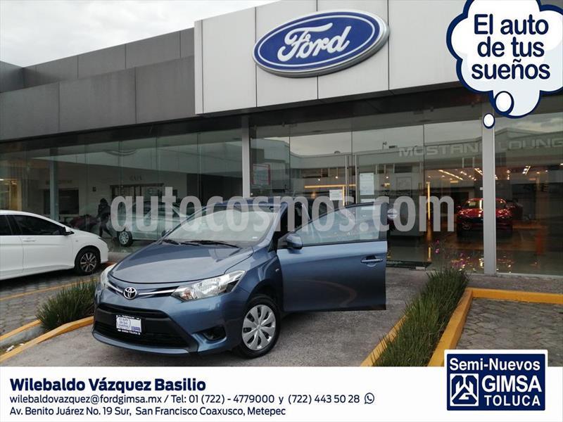 Toyota Yaris Sedan Core Aut usado (2017) color Azul Marino precio $158,500