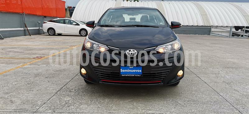 Toyota Yaris Sedan S Aut usado (2019) color Negro precio $277,000