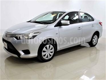 Toyota Yaris Sedan Core Aut usado (2017) color Plata precio $160,000