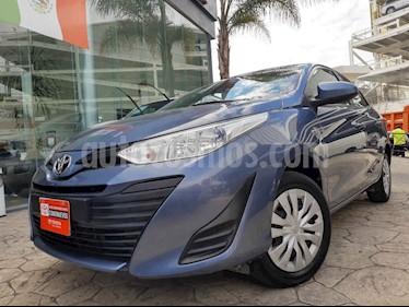 Toyota Yaris Sedan Core usado (2018) color Azul precio $205,000