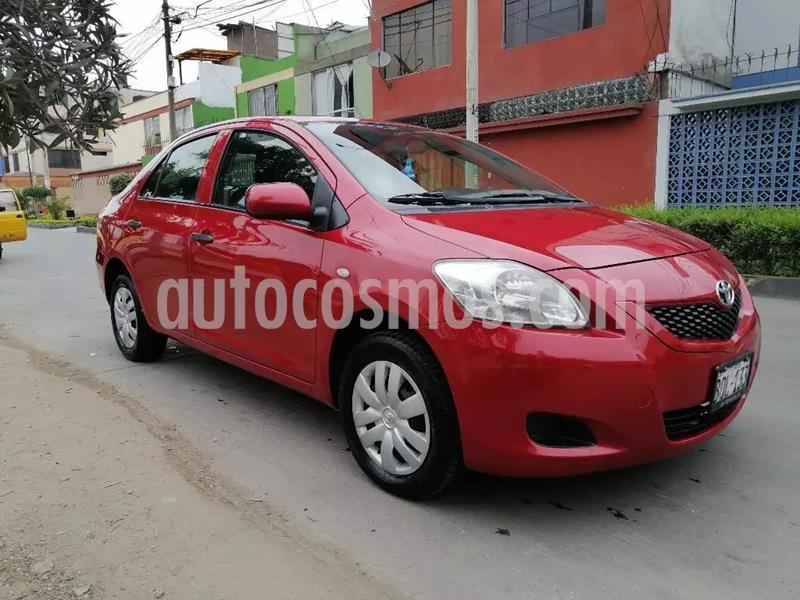 Toyota Yaris Sedan 1.5L GLi CVT usado (2011) color Rojo precio u$s4,350