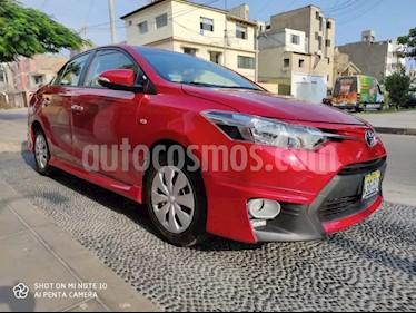 Toyota Yaris Sedan 1.5L GLi usado (2017) color Rojo precio $4,200
