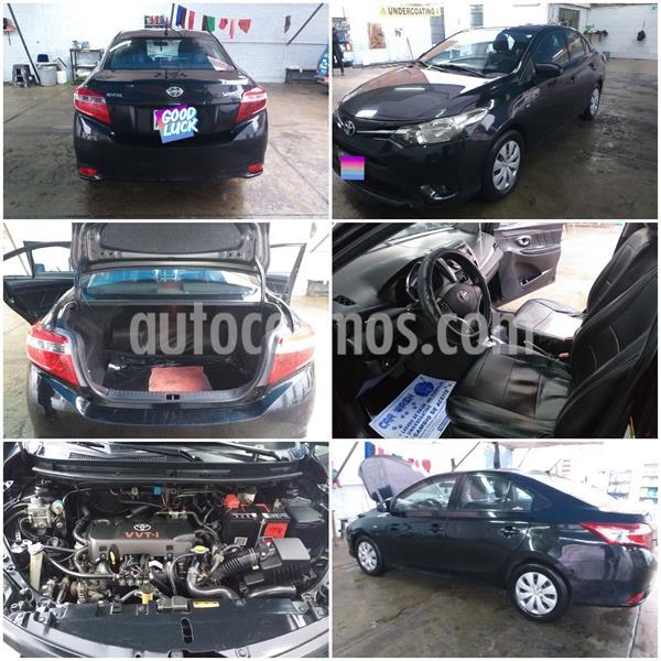 Toyota Yaris Sedan 1.3 GLi Aut usado (2015) color Negro precio $9,500