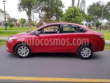 Toyota Yaris Sedan 1.3L usado (2017) color Rojo precio $5,200