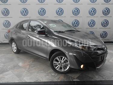 Foto venta Auto usado Toyota Yaris Sedan S (2018) color Gris precio $209,000