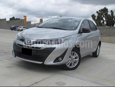 Foto venta Auto usado Toyota Yaris Sedan S (2018) color Gris Metalico precio $190,000