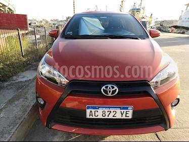 Foto venta Auto usado Toyota Yaris 1.5 S CVT (2018) color Naranja precio $580.000