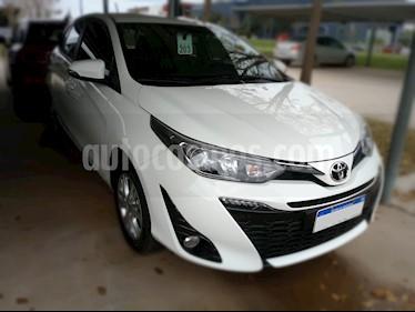 Foto venta Auto usado Toyota Yaris 1.5 XLS Pack CVT (2018) color Blanco precio $730.000