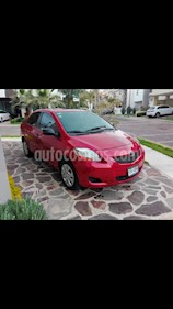 Foto venta Auto usado Toyota Yaris 3P 1.3L Ac (2011) color Rojo Vivo precio $116,000