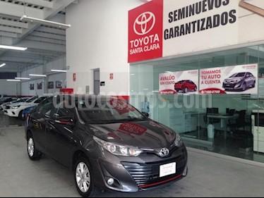 Foto venta Auto usado Toyota Yaris 4p Sedan Core L4/1.5 Man (2019) color Gris precio $235,000