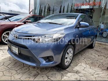 Foto Toyota Yaris 5P 1.5L Core Aut usado (2017) color Azul precio $200,000