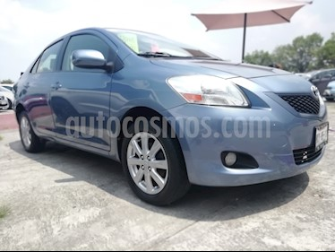 Foto venta Auto usado Toyota Yaris 5P 1.5L Core Aut (2012) color Azul Oscuro precio $119,500
