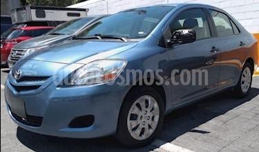 foto Toyota Yaris 5P 1.5L Core usado (2008) color Azul precio $82,900