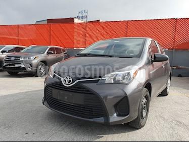 Foto venta Auto usado Toyota Yaris 5P 1.5L Core (2016) color Gris precio $159,000