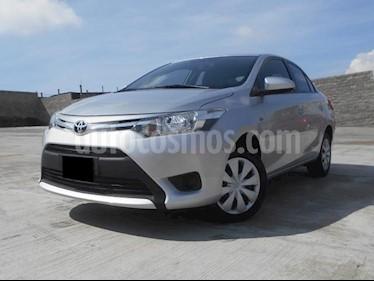 Foto venta Auto usado Toyota Yaris 5P 1.5L Core (2017) color Plata precio $197,000