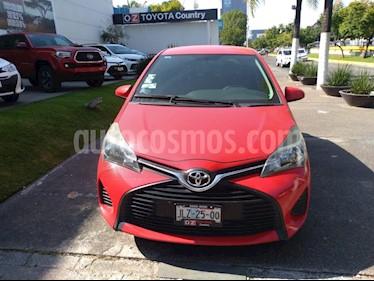 Foto venta Auto Seminuevo Toyota Yaris 5P 1.5L Core (2015) color Rojo precio $173,000