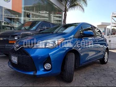 Foto venta Auto usado Toyota Yaris 5P 1.5L Premium Aut (2015) color Azul precio $175,000