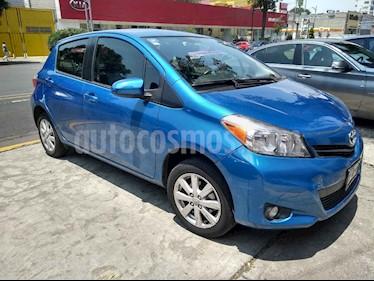 Foto venta Auto usado Toyota Yaris 5P 1.5L Premium Aut (2014) color Azul precio $155,000