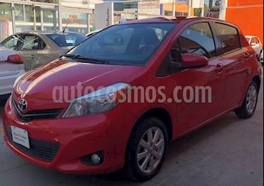 Foto venta Auto usado Toyota Yaris 5P 1.5L Premium Aut (2013) color Rojo precio $146,900