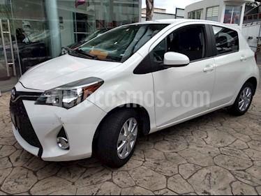 Foto venta Auto usado Toyota Yaris 5P 1.5L Premium Aut (2015) color Blanco precio $175,000