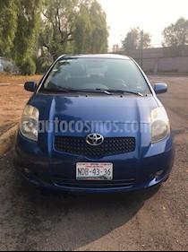 Toyota Yaris 5P 1.5L Premium usado (2008) color Azul precio $91,000